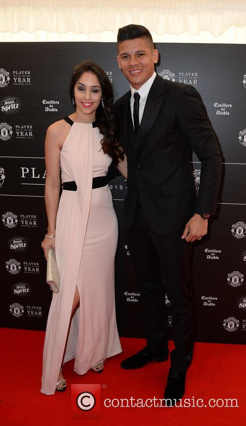 Manchester United, Marcus Rojo and Eugenia Lusardo 9