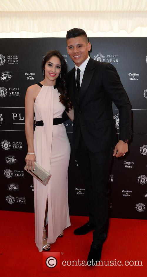 Manchester United, Marcus Rojo and Eugenia Lusardo 10