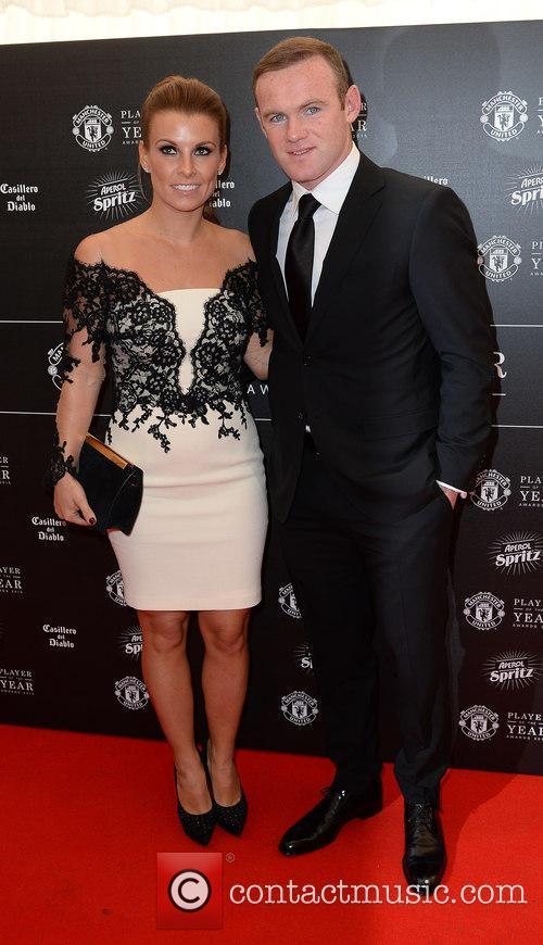 Wayne Rooney and Coleen Rooney 6