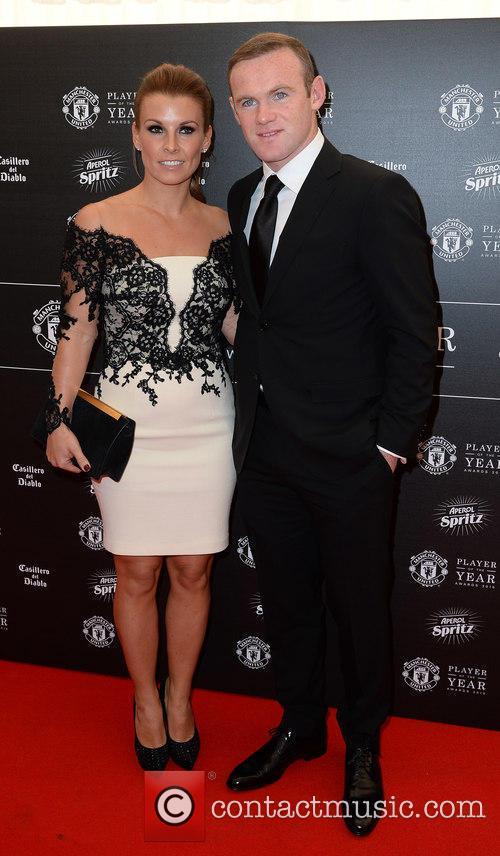 Wayne Rooney and Coleen Rooney 7