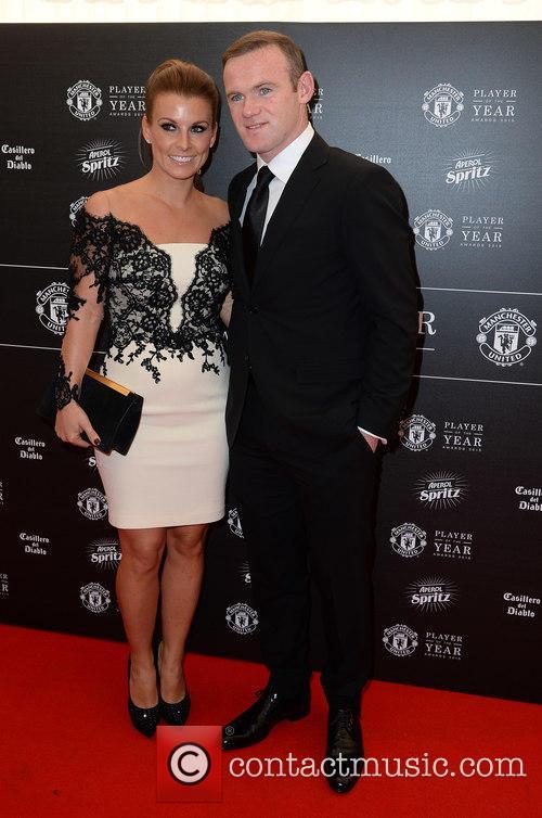Wayne Rooney and Coleen Rooney 8