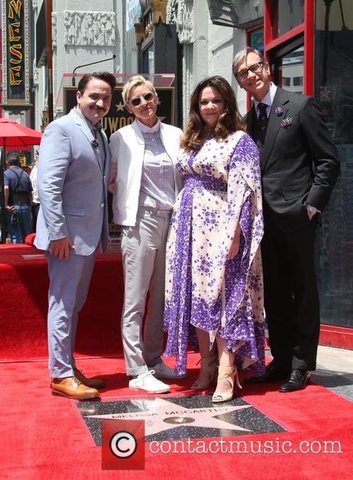 Melissa McCarthy recieves a star on the Hollywood...