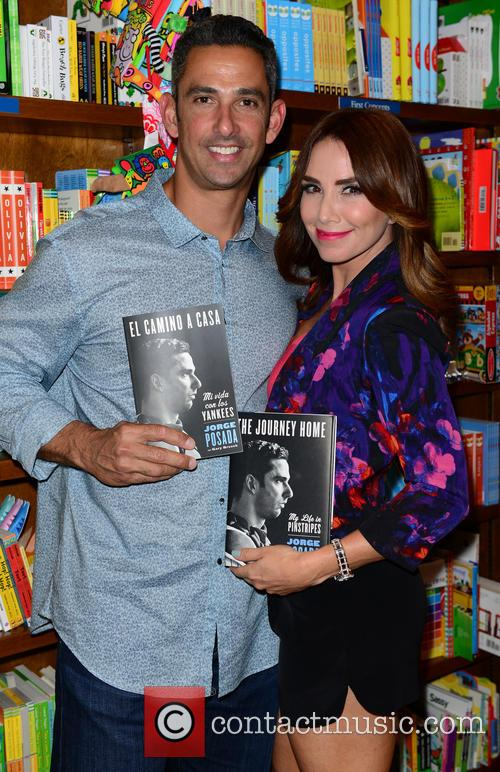 Jorge Posada and Laura Posada 1