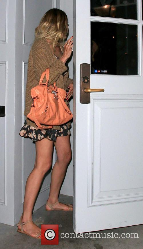 Lauren Conrad arrives at a building in West...
