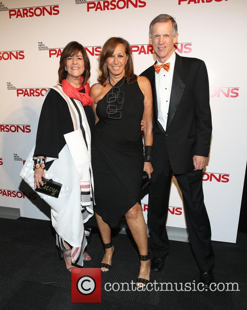Kay Unger, Donna Karan and David Van Zandt 1