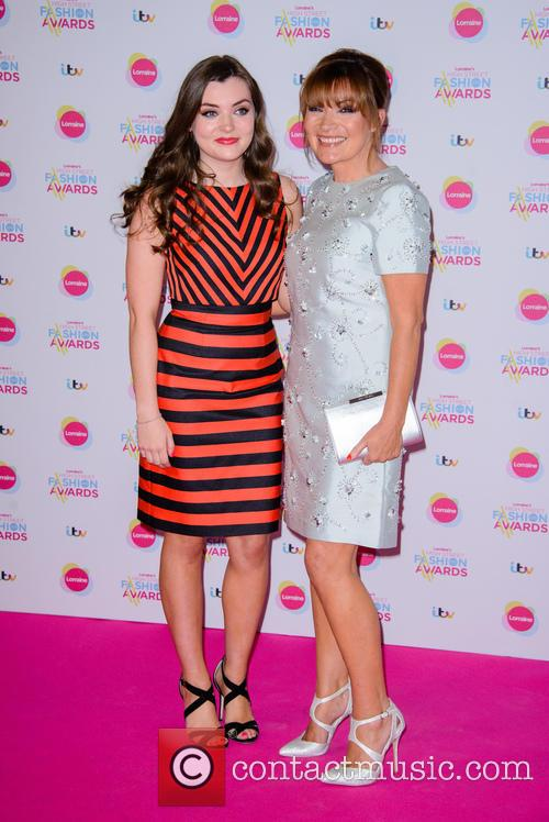 Rosie Smith and Lorraine Kelly 7
