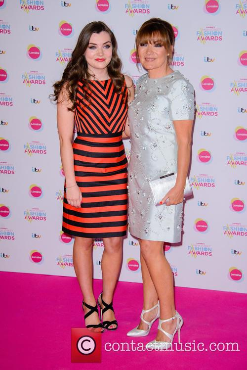 Rosie Smith and Lorraine Kelly 8