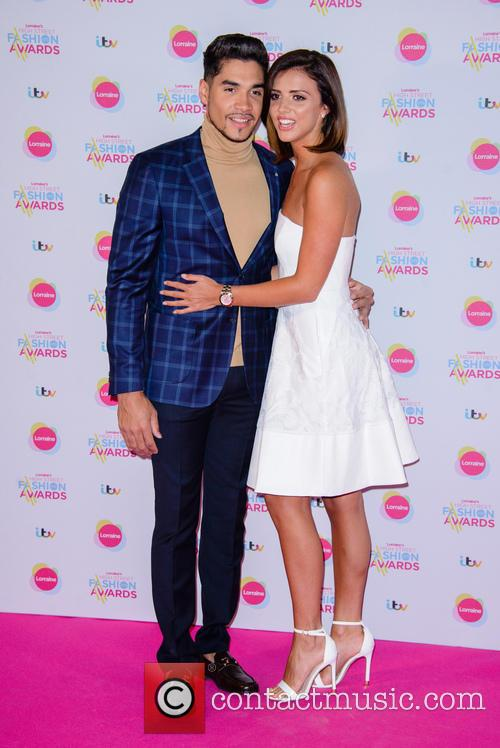 Louis Smith and Lucy Mecklenburgh 9