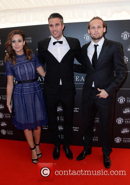 Daley, Robin Van Persie, Bouchra Van Persie and Manchester United 2