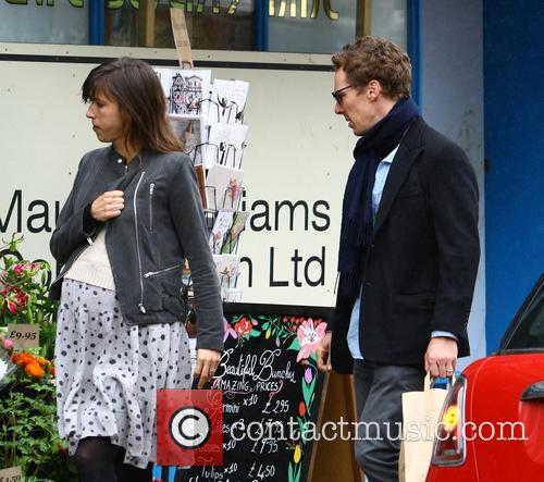 Benedict Cumberbatch and Sophie Hunter 10