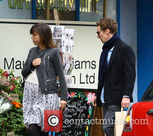 Benedict Cumberbatch and Sophie Hunter 4