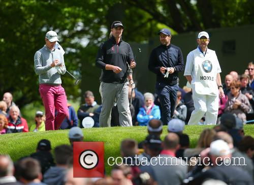 Justin Rose, Kevin Pietersen and Jamie Redknapp 2
