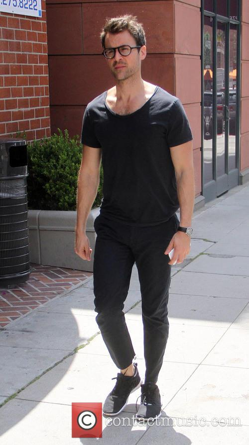 Brad Goreski shopping in Beverly Hills