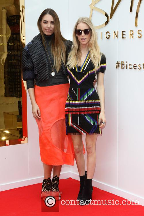 Amber Le Bon and Mary Charteris 3