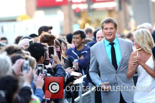 David Hasselhoff and Hayley Roberts 9
