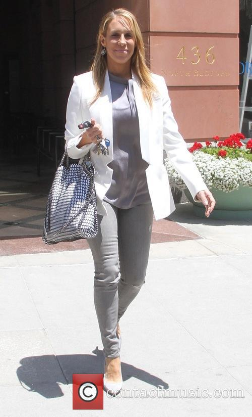 Jenn Berman goes shopping in Beverly Hills