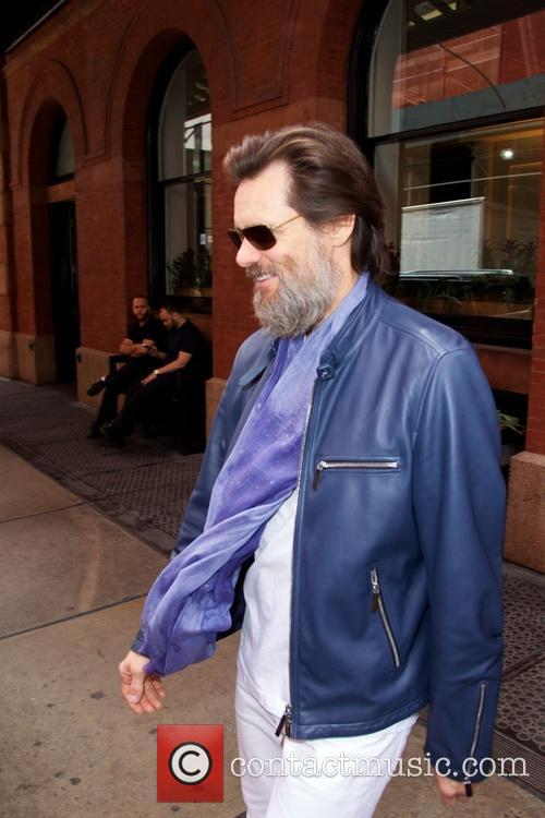 Jim Carrey out and about in SoHo