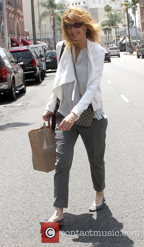 Laura Dern goes shopping in Beverly Hills