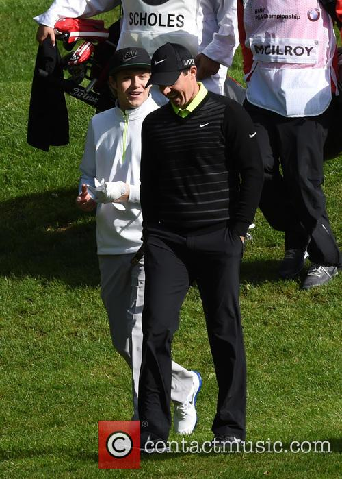Niall Horan and Rory Mcilroy 6