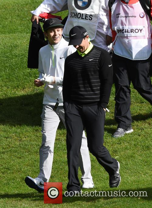 Niall Horan and Rory Mcilroy 7