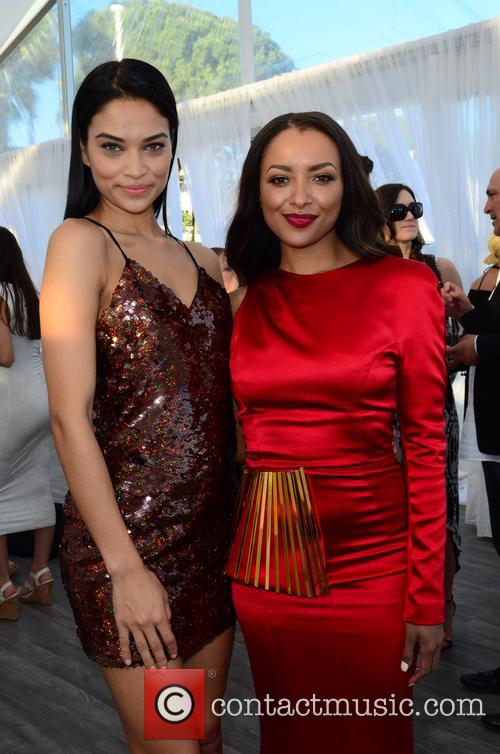 Shanina Shaik and Kat Graham 3