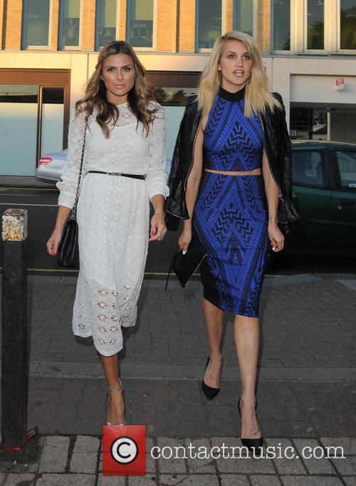 Zoe Hardman and Ashley Roberts 2