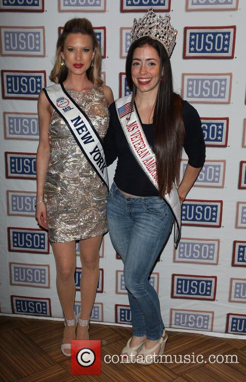 Ms. New York Nicole Kulovany and Ms. Veteran America Kimberly Wolfanger 2