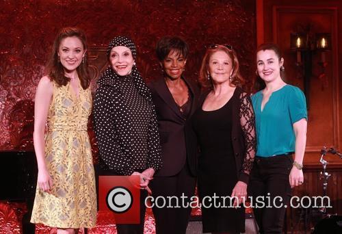 Laura Osnes, Liliane Montevecchi, Melba Moore, Linda Lavin and Lauren Worsham 2