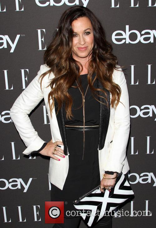 Alanis Morissette at the ELLE Women in Music Celebration