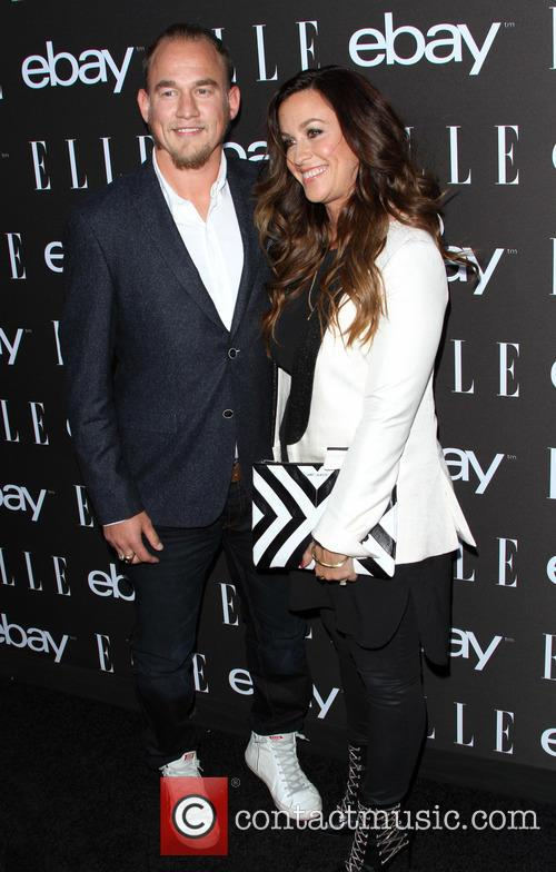 Alanis Morissette and Husband Mario Treadway 9