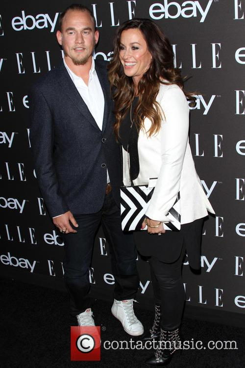 Alanis Morissette and Husband Mario Treadway 10