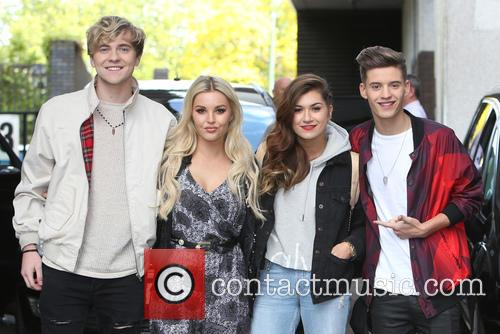 Mikey Bromley, Betsy Blue, Parisa Tarjomani, Charlie George and Only The Young 2