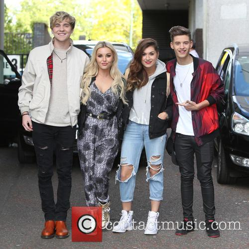 Mikey Bromley, Betsy Blue, Parisa Tarjomani, Charlie George and Only The Young 3