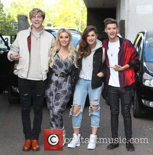 Mikey Bromley, Betsy Blue, Parisa Tarjomani, Charlie George and Only The Young 5