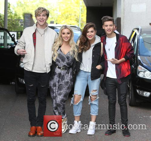 Mikey Bromley, Betsy Blue, Parisa Tarjomani, Charlie George and Only The Young 6