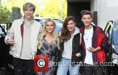 Mikey Bromley, Betsy Blue, Parisa Tarjomani, Charlie George and Only The Young 1