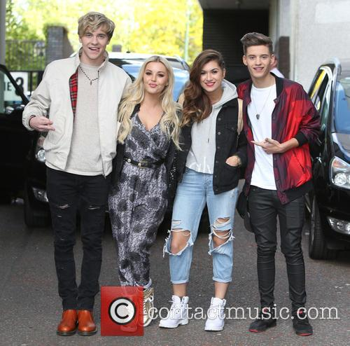 Mikey Bromley, Betsy Blue, Parisa Tarjomani, Charlie George and Only The Young 7