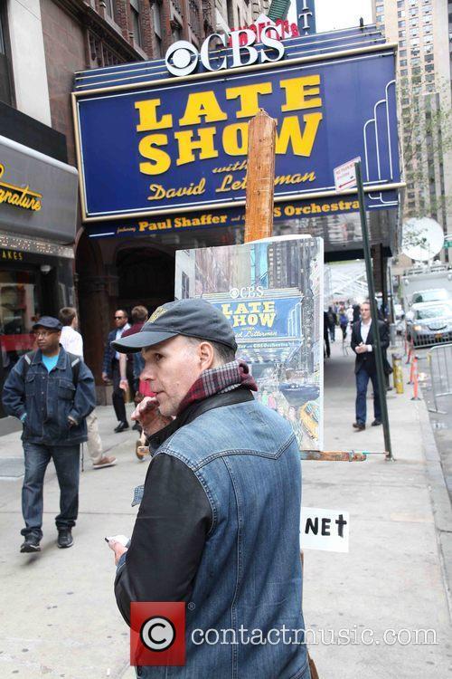 David Letterman, Artist and Tom Barlow 2