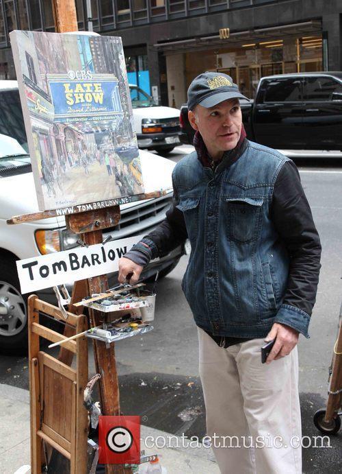 David Letterman, Artist and Tom Barlow 3