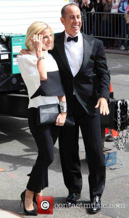 Jessica Seinfeld and Jerry Seinfeld 3