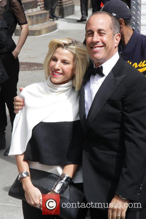 Jerry Seinfeld and Jessica Seinfeld 6
