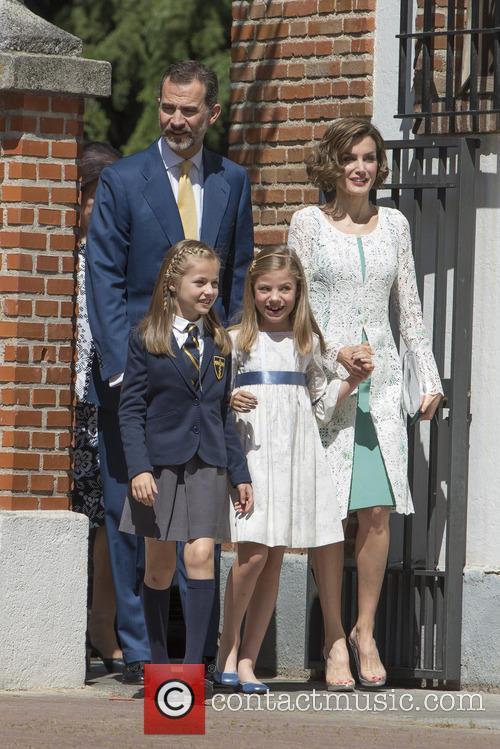 King Felipe Vi Of Spain, Princess Sofia Of Spain, Princess Leonor Of Spain and Queen Letizia Of Spain 3