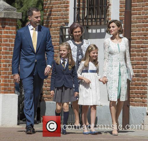 King Felipe Vi Of Spain, Princess Sofia Of Spain, Princess Leonor Of Spain and Queen Letizia Of Spain 4