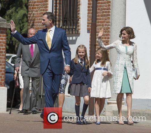 King Felipe Vi Of Spain, Princess Sofia Of Spain, Princess Leonor Of Spain and Queen Letizia Of Spain 5