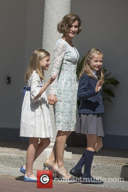 Princess Sofia Of Spain and Princess Leonor Of Spain 2