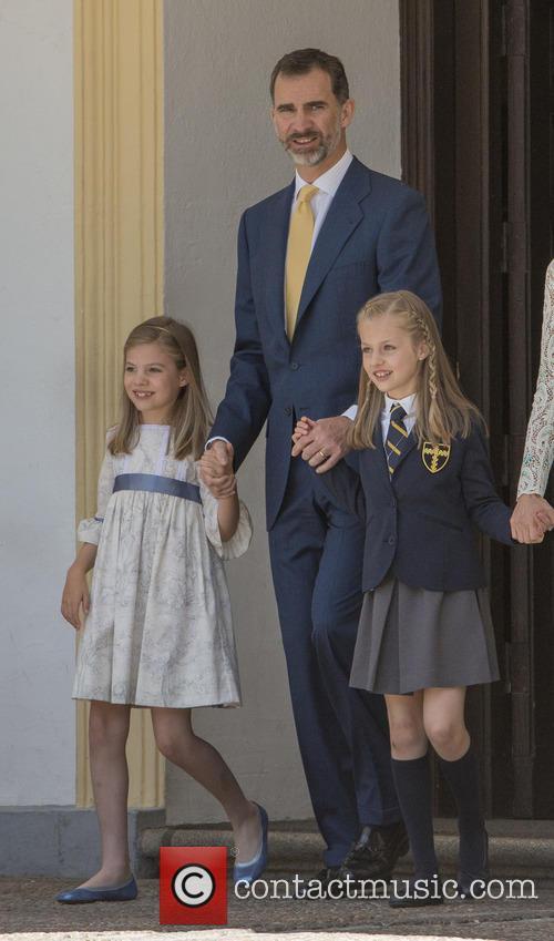 King Felipe Vi Of Spain, Princess Sofia Of Spain, Princess Leonor Of Spain and Queen Letizia Of Spain 1