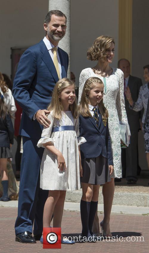 King Felipe Vi Of Spain, Princess Sofia Of Spain, Princess Leonor Of Spain and Queen Letizia Of Spain 7