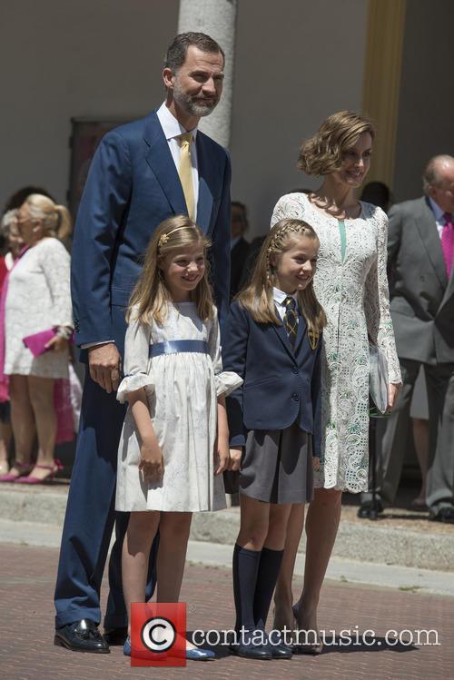 King Felipe Vi Of Spain, Princess Sofia Of Spain, Princess Leonor Of Spain and Queen Letizia Of Spain 8