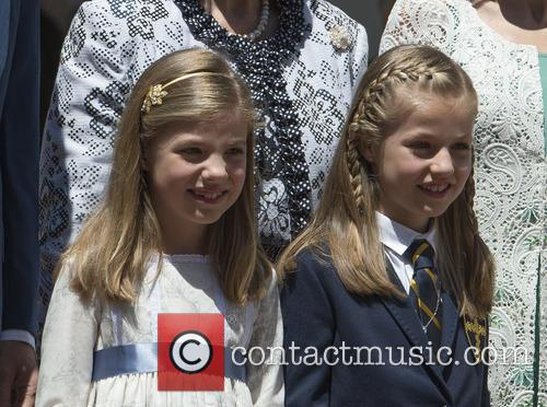 Princess Sofia Of Spain and Princess Leonor Of Spain 4