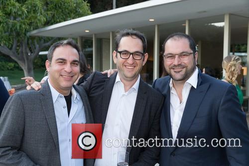 Adam Lilling, Greg Silverman and Shervin Pishevar 1